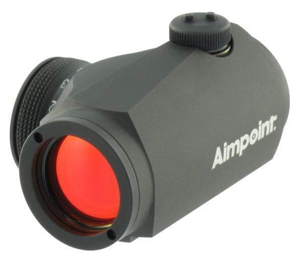 Коллиматорный прицел Aimpoint Micro H-1 + кронштейн Blaser (4 МОА)