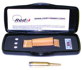 Патрон холодной пристрелки Red-I калибра .243 WIN