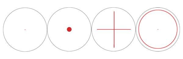 Коллиматорный прицел Bushnell Trophy 1x28 Red Dot Sight w/Rings с подсветкой сетки (4 Dial-In )
