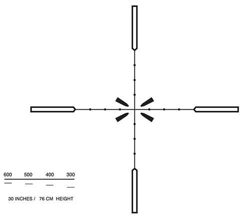 Оптический прицел Elcan Specter OS 3x B2 сетка ATOS3.0A/ATOS3.0B с подсветкой ATOS30B2