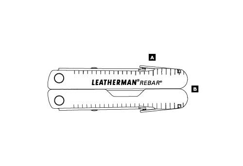 Мультитул LEATHERMAN REBAR 831551
