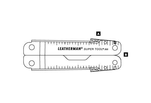 Мультитул LEATHERMAN SUPER TOOL 300 831180