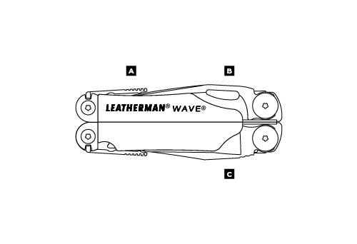 Мультитул LEATHERMAN WAVE 83038