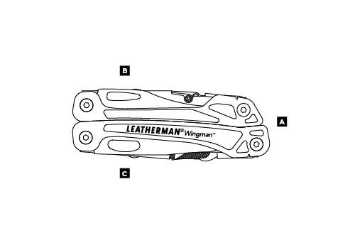 Мультитул LEATHERMAN WINGMAN 831426