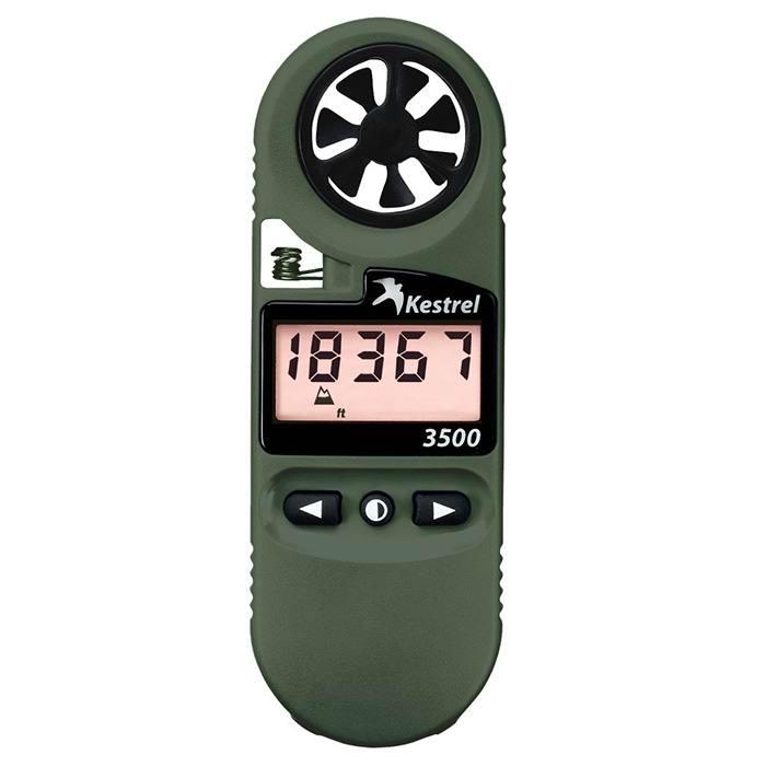 Ветромер Kestrel 3500 NV (время, скорость ветра, температура воздуха, воды, снега, влажность, точка росы)
