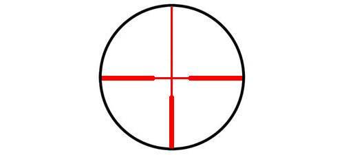 Оптический прицел Hakko 3-9x42 30мм SMOOTH BODY LINE BH-3942, с подсветкой точки(6ERD)