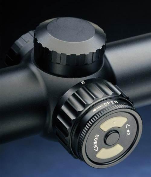 Оптический прицел Hakko 2-12x50 30мм EPOCH ONE, сетка MilDot с подсветкой (90CH)
