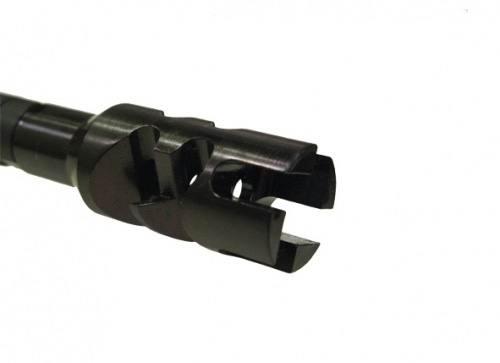 Дульный тормоз компенсатор (ДТК) Торнадо ME 223REM кал., для AR15/М16, с посадочной резьбой 1/2»-28, с гайкой фиксатором, 450015