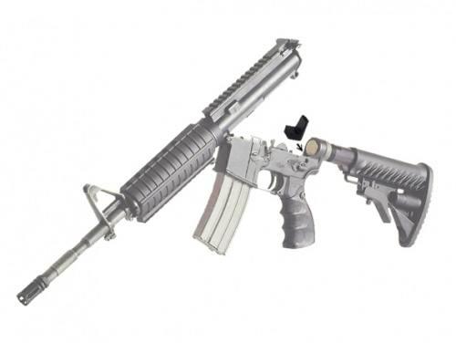 Набор резиновых прокладок ME для устранения шата между верхней и нижней частями винтовок M16, M4, AR15, 320003