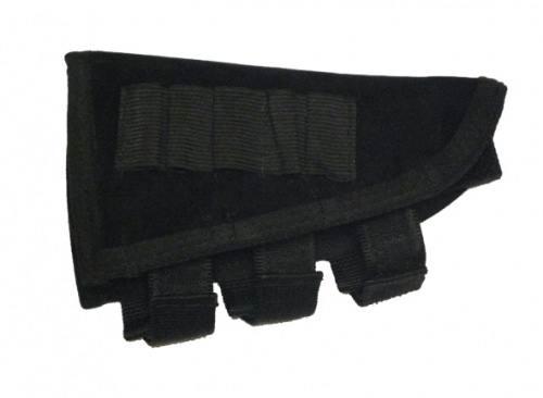 Подщечник для приклада ME с патранташом на 5 патронов 12 кал., без кармана, 400003