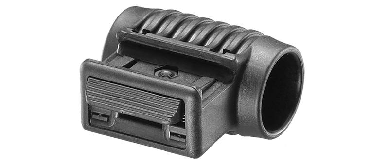Крепление для установки тактических подствольный фонарей и ЛЦУ с наружным диаметром 1 дюйм FAB Defense PLS