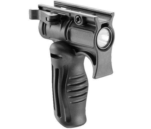 Рукоятка тактическая с креплением для фонаря с наружным диаметром 1 дюйм, складная FAB Defense FFGS-1