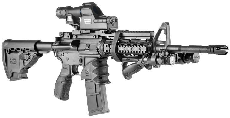 Рукоятка Fab Defense MWG пластиковая M4/M16/AR15