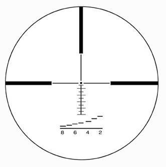 Оптический прицел IOR Valdada Hunting 4-14x56 с подсветкой Red Led  (HR5)