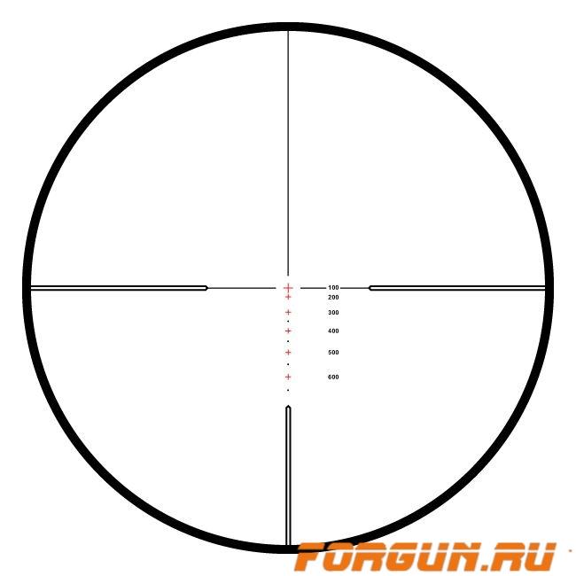 Оптический прицел Hawke Endurance SF 6-18x50, 25.4 мм, c подсветкой, отстройка параллакса, 10× ½ Mil Dot, 16161