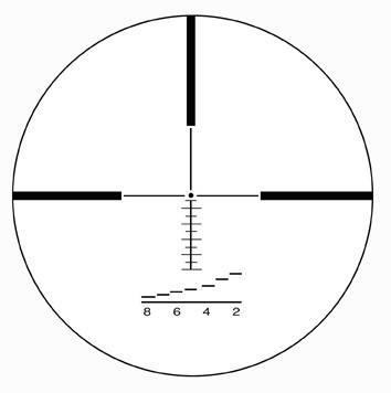 Оптический прицелIOR Valdada 2.5-10x42 30mm с подсветкой (RANGING)