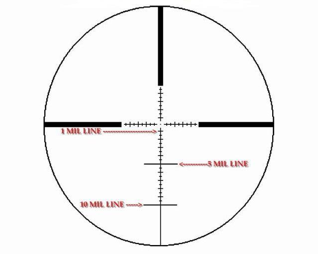 Оптический прицел IOR Valdada Hunting 6-24x50 35mm с подсветкой (MP-8 DOT)