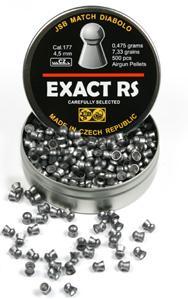 Пульки к пневматике JSB Diabolo Exact RS 4.5 мм (.177), вес 0,475г банка 500 шт