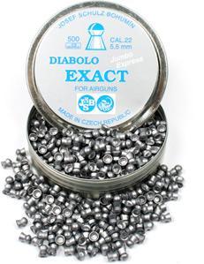Пульки к пневматике JSB Diabolo Exact Jumbo Express 5.5 мм (.22), вес 0,930г, банка 500 шт