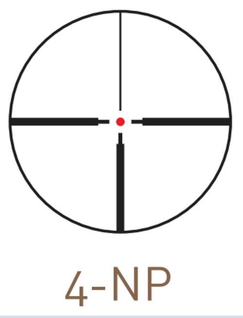 Оптический прицел Kahles CBX 2.5-10x50 с шиной SR, с подсветкой (4-NP)