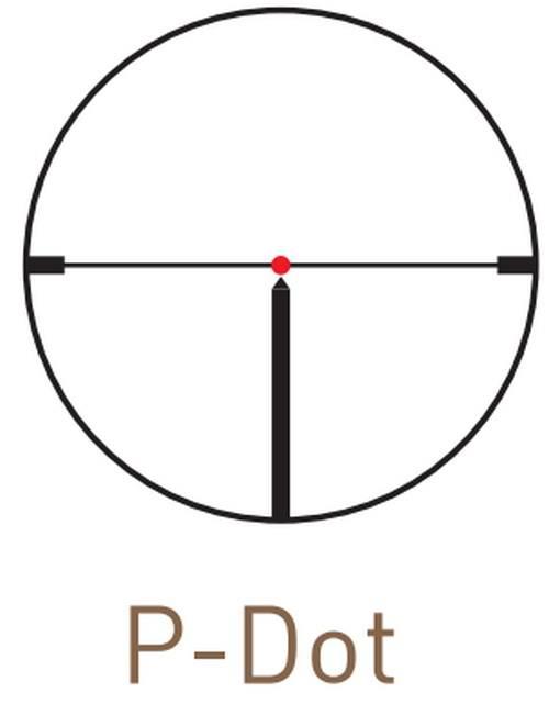 Оптический прицел Kahles CSX 1.1-4x24 с  шиной SR, с подсветкой (P-Dot)