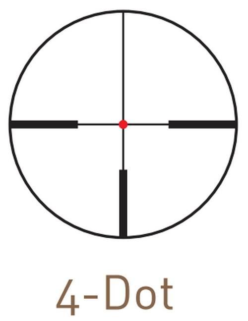 Оптический прицел Kahles CSX 1.5-6x42 с шиной SR, с подсветкой (4-Dot)