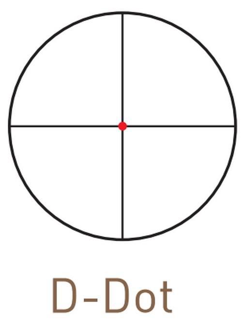 Оптический прицел Kahles CSX 2.5-10x50 с шиной SR, с подсветкой (D-Dot)