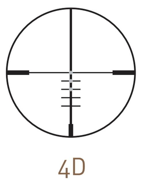 Оптический прицел Kahles CT 2-7x36 L (4D)
