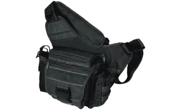 Тактическая сумка UTG (Leapers) PVC-P218B, многофункциональная, для карт, бумаг и документов, цвет черный.