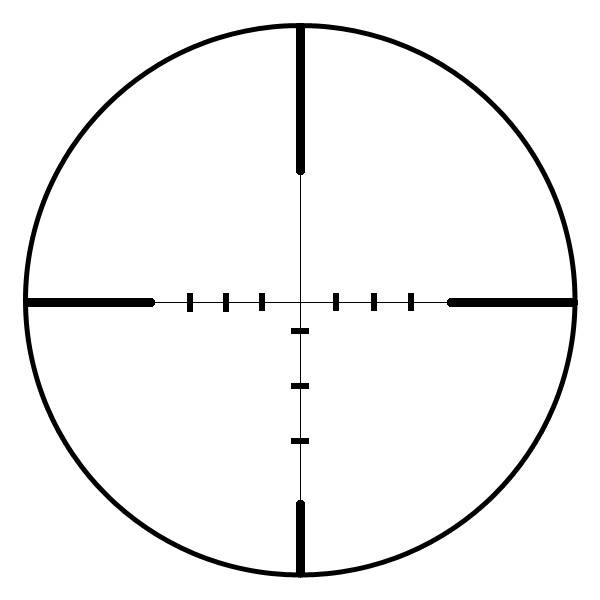 Оптический прицел Vortex Viper HS 4-16x44  с низкими барабанчиками (V-Plex MOA)