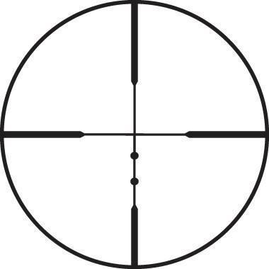 Оптический прицел Leupold VX-1 3-9x40mm матовый   (LR Duplex)