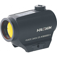 Коллиматорный прицел Holosun Paralow HS403C SOLAR POWER Red Dot Sight