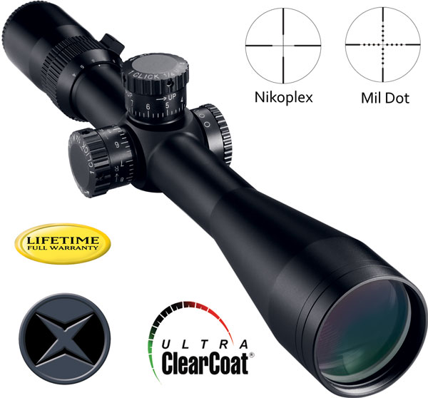 Оптический прицел NIKON Monarch X 4-16x50 Tactical Nikoplex NIK-8414