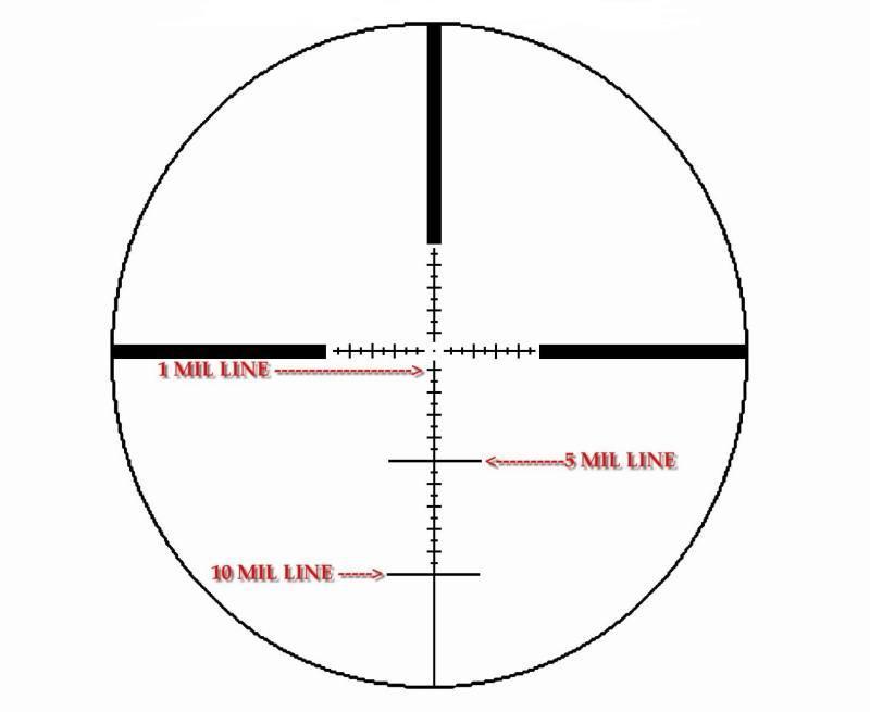 Оптический прицел IOR Valdada  Tactical 10x42 30mm (MP-8 DOT)
